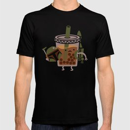 Boba Tea Fett T-shirt