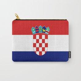 Flag of croatia -croatian, Hrvatska,croat,croacia,Zagreb,split,rijeka,osijek. Carry-All Pouch