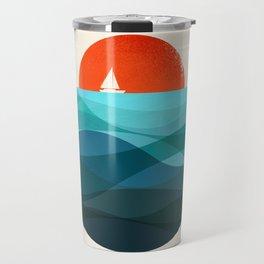 Deep blue ocean Travel Mug