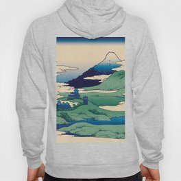 Doctor Who Mount Fuji - Mont Fuji - Tardis Hoody