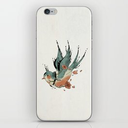 Swallow  iPhone Skin