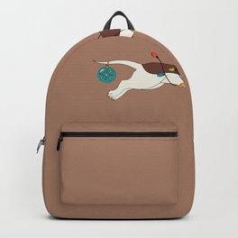 Christmas Dachshund Backpack