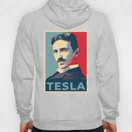 Tesla poster Hoody
