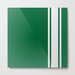 Green Racer Metal Print