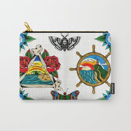 Beachs and Bugs Carry-All Pouch