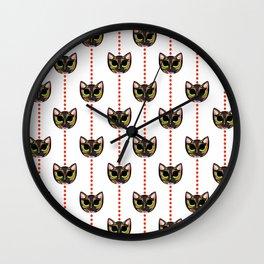 Murdoc Sunstone Patters Wall Clock