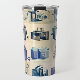 Vintage Camera Collection Travel Mug