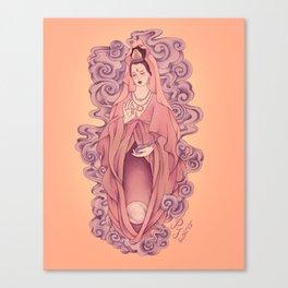 Guan Yin Yoni Canvas Print