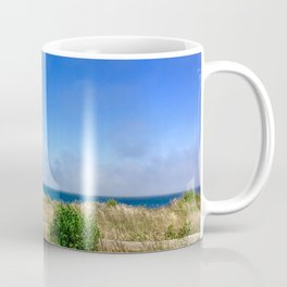 Sconset Lighthouse View in Nantucket Coffee Mug