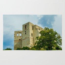 Castle in Kazimierz Dolny Rug