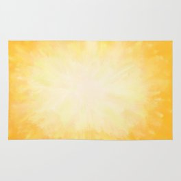 Golden Sunburst Rug
