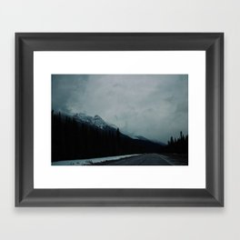 Canadian Rockies (2) Framed Art Print