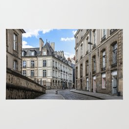 Old town street of Rennes Rug