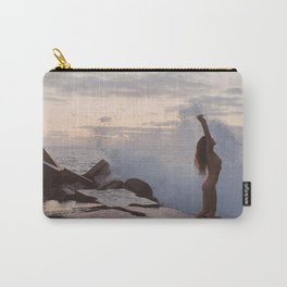 There is peaceful, there is wild Carry-All Pouch