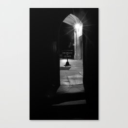 The College is Closed Canvas Print