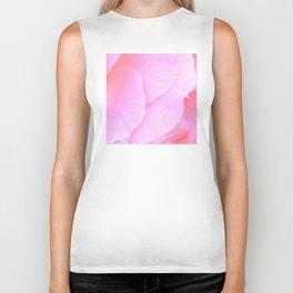 Flower | Flowers | Floral | Pink Rose Petals | Nadia Bonello Biker Tank