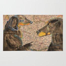 Dachshund - German Breed Rug