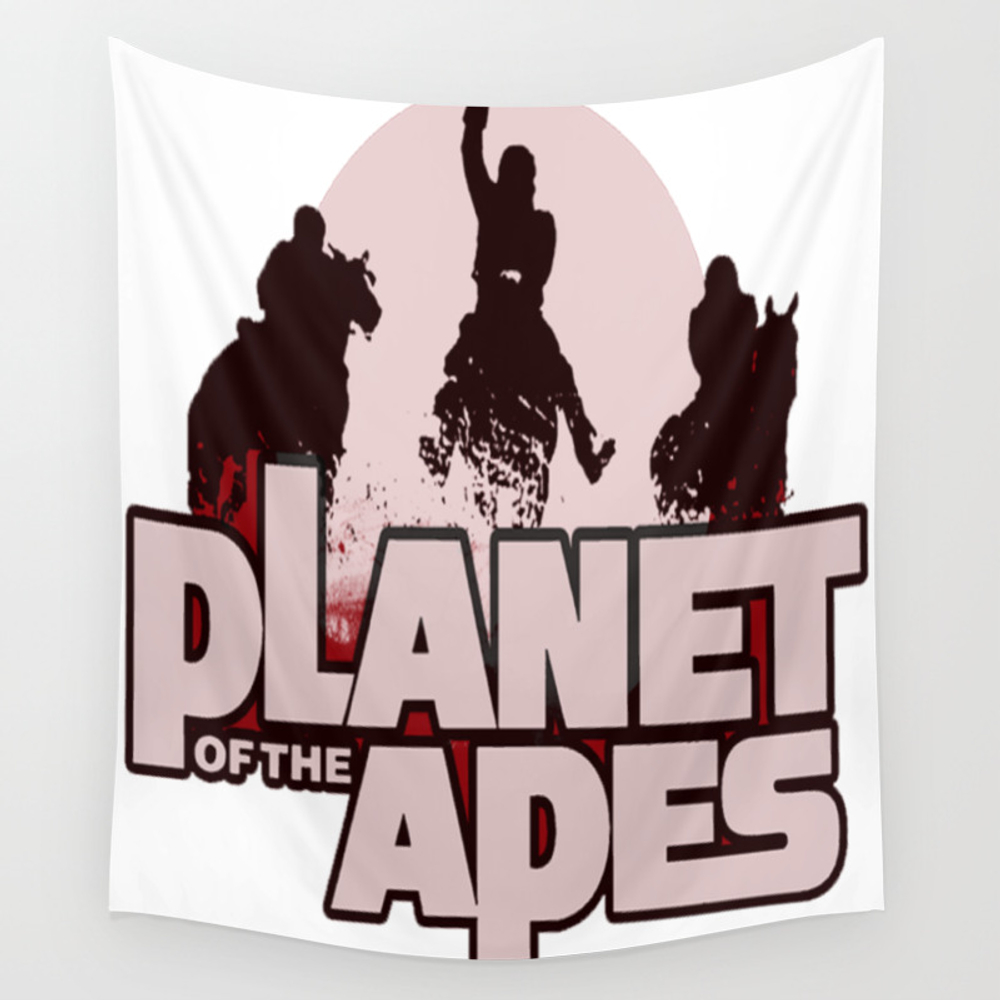 Ape Planet Wall Tapestry by Monarchy7069 TPS7564688