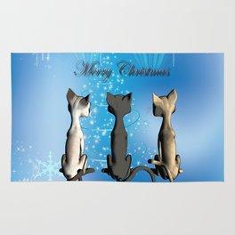 Funny cartoon cats Rug