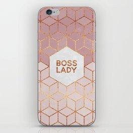 Boss Lady / 2 iPhone Skin