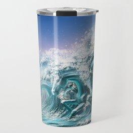 water horse Travel Mug