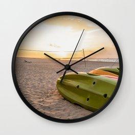 Peaceful Mornings Wall Clock