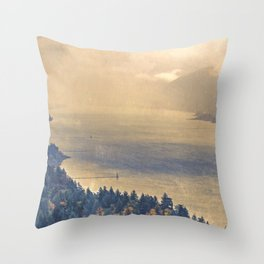 Classic Columbia Throw Pillow