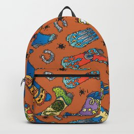 Cowboy-Cowgirl Boots Backpack