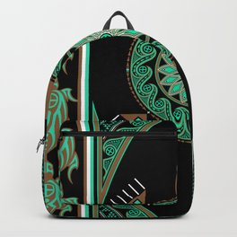 Green Turtle Backpack