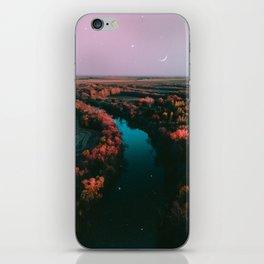 north dakota fall iPhone Skin