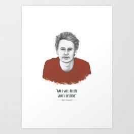 """Ben Howard """"The Fear"""" Art Print"""