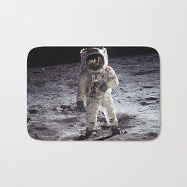 Apollo 11 - Buzz Aldrin On The Moon Bath Mat