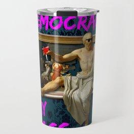 The Death (?) of Socrates Travel Mug