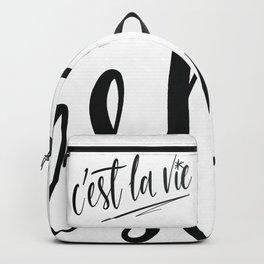 C'est la vie! Backpack