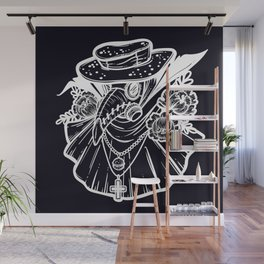 Plague Doctor Wall Mural