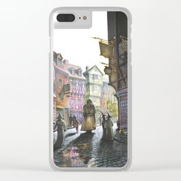 Diagon Alley Clear iPhone Case
