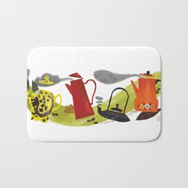 Teapots Bath Mat