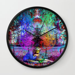 An Early Visit From The Frost Fairy (autumn) Wall Clock