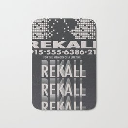 Rekall ( Total Recall ) Vintage magazine commercial. Bath Mat