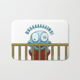 Nobody puts Baby Zombie in a corner! Bath Mat