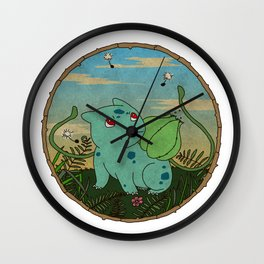 BULBASAU R Wall Clock