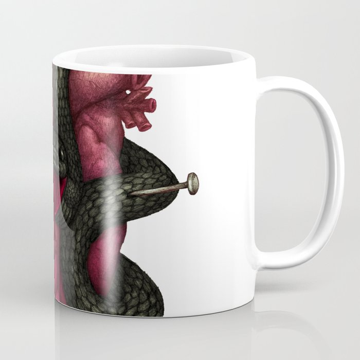 Black Heart Coffee Mug