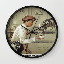 Be Kind To Animals 1 Wall Clock