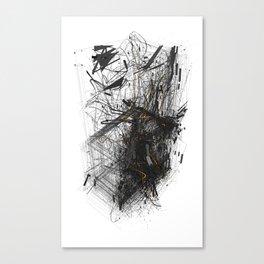 Unwelcome Gaze – Amazon 1 Canvas Print
