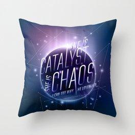 Catalyst Throw Pillow