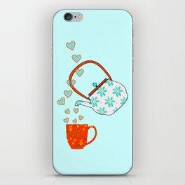 Tea Time Love iPhone Skin