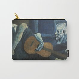 Pablo Picasso - The Old Guitarist Carry-All Pouch