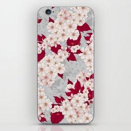 Higan-zakura (Dove Grey) iPhone Skin