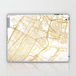JERSEY CITY NEW JERSEY STREET MAP ART Laptop & iPad Skin