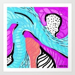 Abstract Study No. 9 Art Print